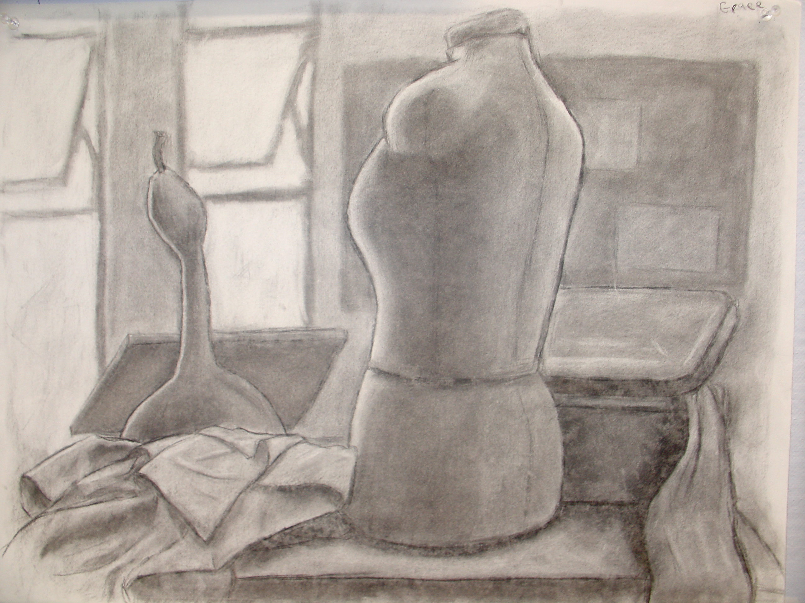 Untitled - Charcoal - Grace Avery