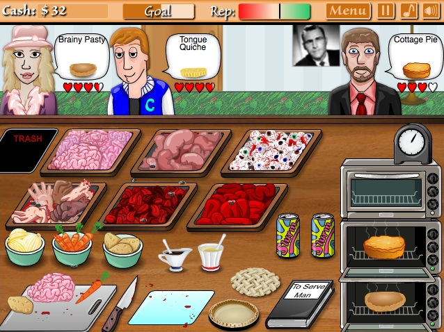Play Cannibal Cuisine!