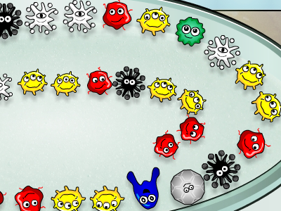 Play Petri Lab!