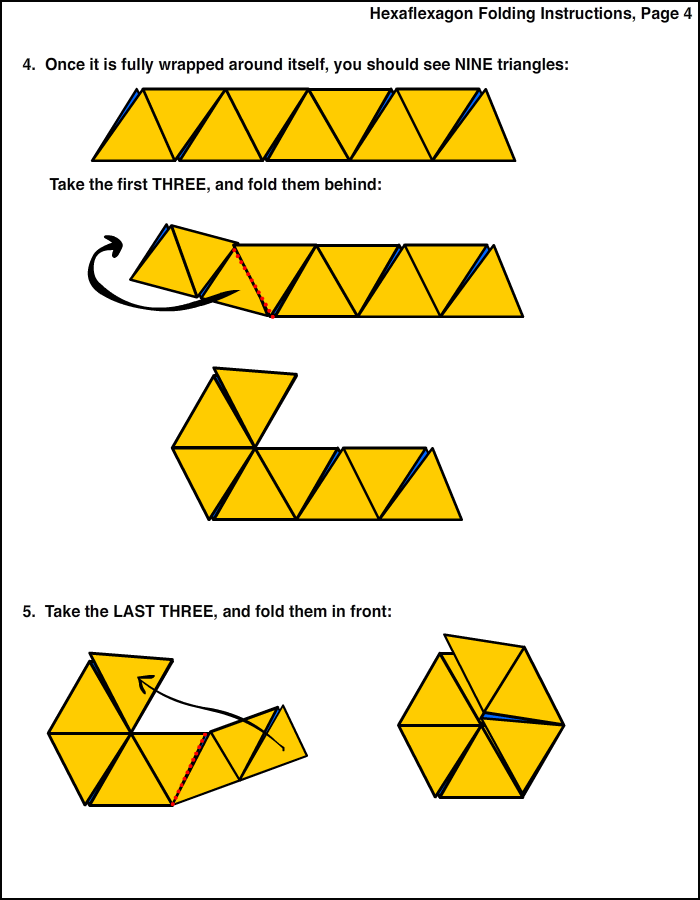 Hexaflexagon Designer – Hexaflexagon Template